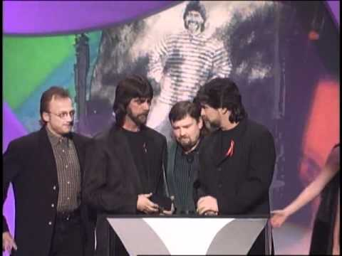 Alabama Wins Favorite Country Band, Duo or Group - AMA 1998
