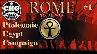 Rome Total War - Egypt #1 - A Return to a Classic!