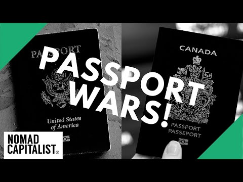 US Passport Vs. Canadian Passport #PassportWars