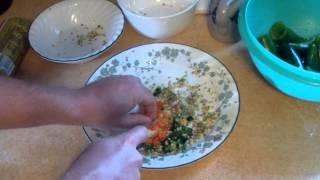 Man Food: Cream Cheese Stuffed Peppers