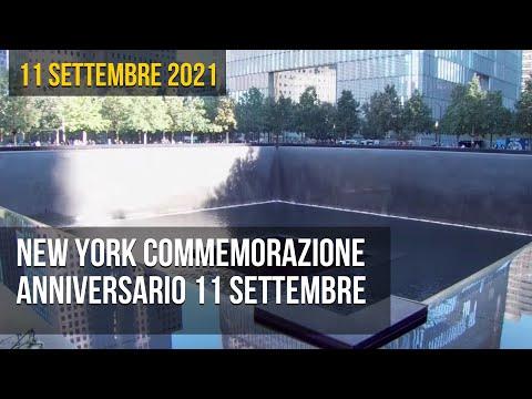 New York Commemorazione anniversario 11 Settembre 2001
