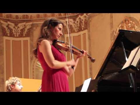 Macarena Martínez y Barbara Panzarella. Sociedad Filarmónica de Málaga