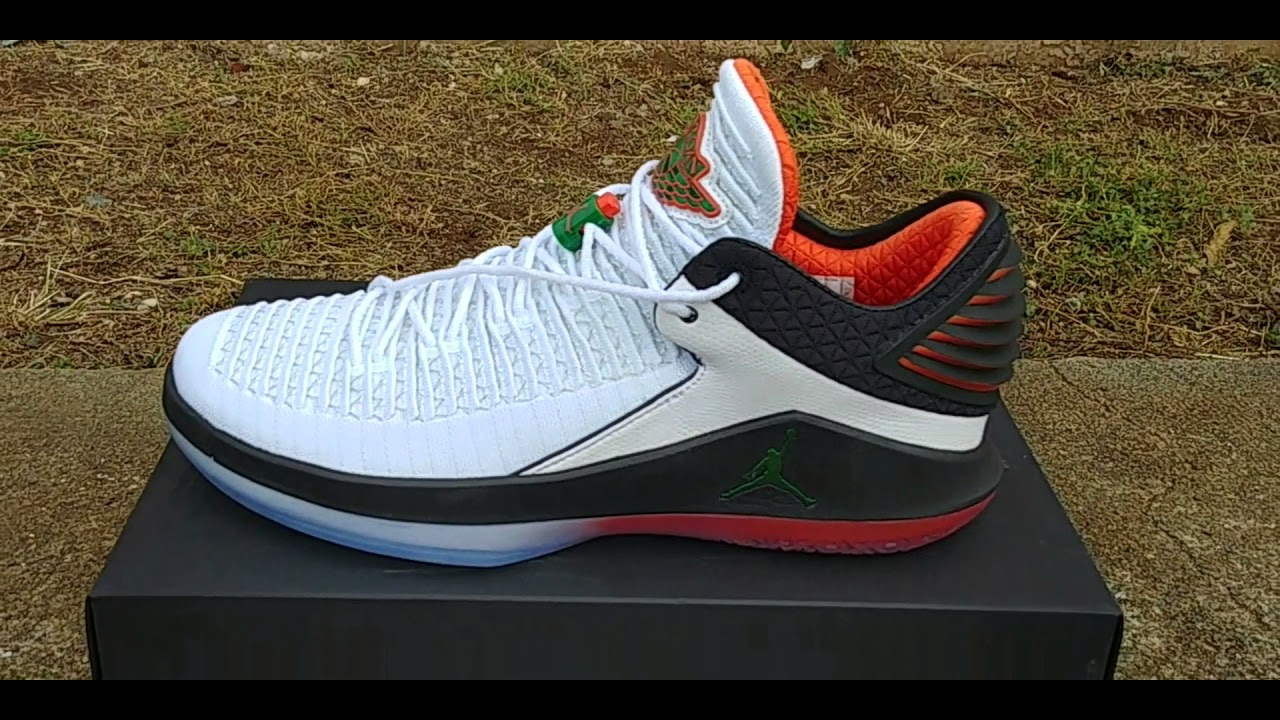 123aa54ec5f Jordan 32 low gatorade review - YouTube