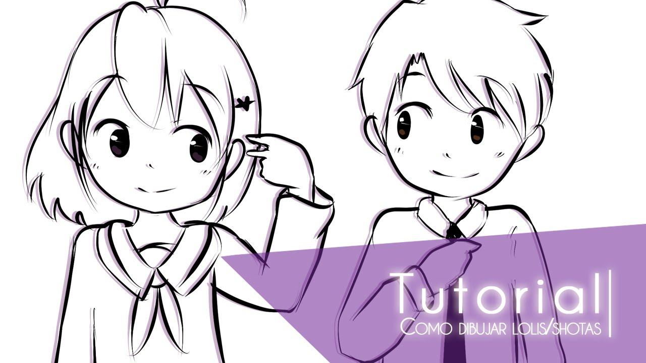 Tutorial ۰• Como Dibujar Niños (lolis/shotas) •۰