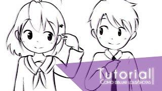 Tutorial ۰•●Como dibujar niños (lolis/shotas)●•۰