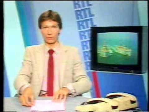 840816 - RTL Télévision: speakerine, pub, début JT (16 août 1984)