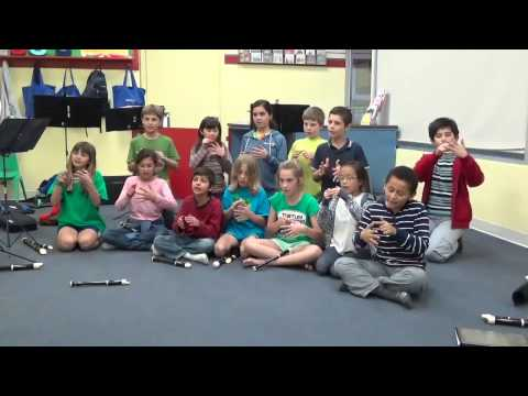 Learning Staff Note Names, staff song by Lynn Kleiner
