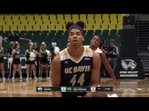 UVU: Mens Basketball vs UC Davis