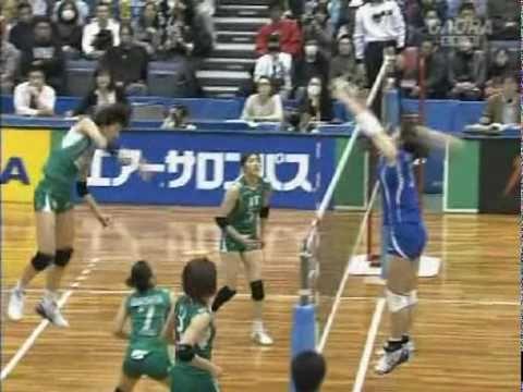 Kim Yeon-Koung - 2009/2010 JAPAN V-League JT vs TORAY(091128)