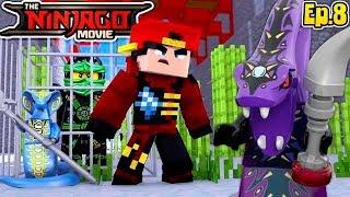 Minecraft LEGO NINJAGO - THE BATTLE TO SAVE LLOYD GARMADOM!!!