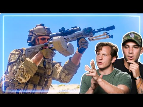 Spec Ops REACT to ARMA 3   Experts React