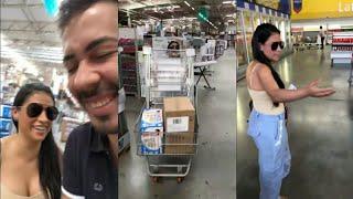 Carlinhos Maia vai as compras com Simone