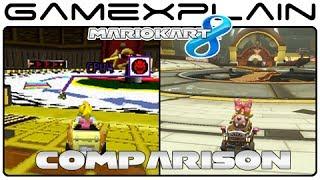 Mario Kart 8: Tick-Tock Clock DS Head-to-Head Comparison (Wii U vs. DS)