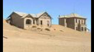 Diamantenstadt Kolmanskop in Namibia
