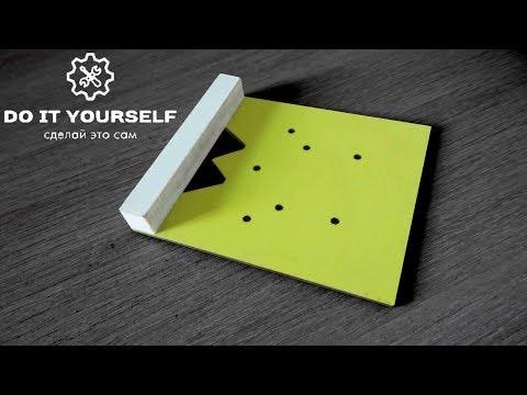 Шаблон для мебельных петель своими руками