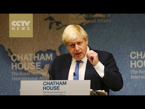 Boris Johnson says UK wants strong relationship with Europe