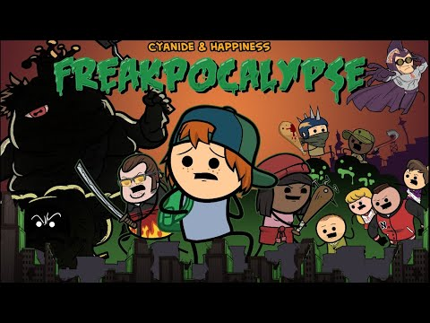 Freakpocalypse Demo with the Creators! Cyanide & Happiness Video Game