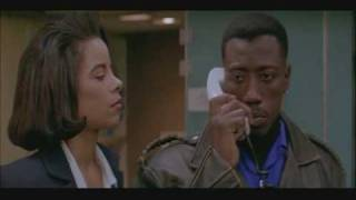 Wesley Snipes Always Bet on Black Passenger 57 (1992)