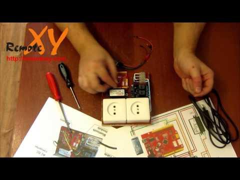 Умная розетка на Arduino управляемая со смартфона по Bluetooth