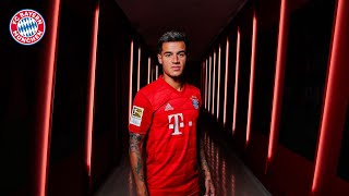 He is fc bayern's new no. 10: philippe coutinho! we followed our signing on his first day at bayern - from medical to the contract and pre...