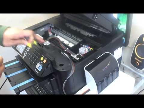 How to install CISS for Epson WF-3640 WF-3620 WF-7610 WF-7110 WF-7210 WF-7710  WF-7720 WF-7620