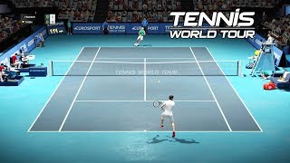 Roger Federer vs Dominic Thiem on PC with Ultra High Settings | Tennis World Tour