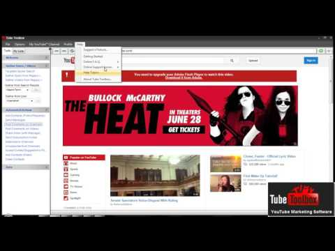Tube Toolbox Review - The best Youtube Marketing Software