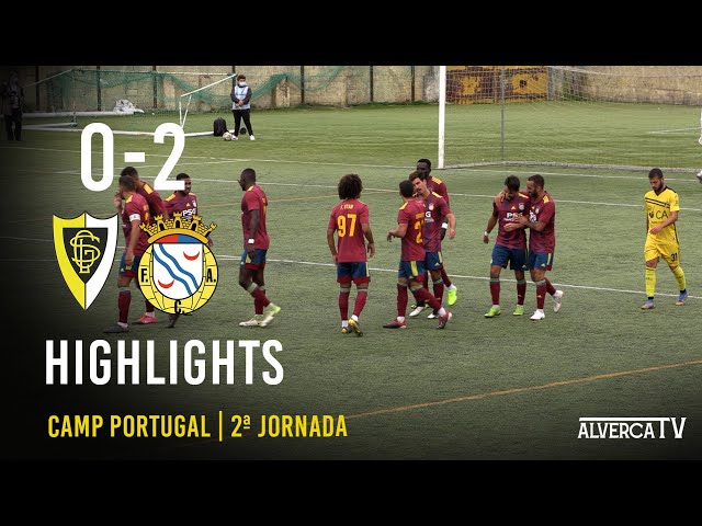 GS Loures 0-2 FC Alverca Highlights