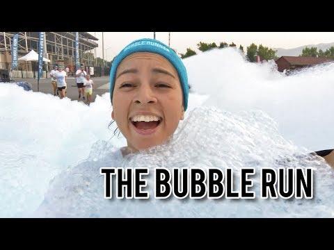 MY FIRST 5K (bubble Run 2018)