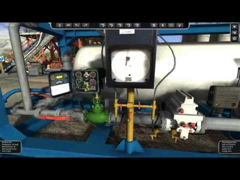 Well Test Simulator - Surface Testing - HD 1/2