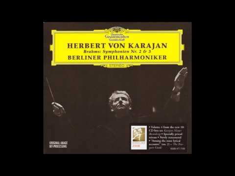 Brahms - Symphony No.3 - Karajan BPO (1964) (Remastered by Fafner)