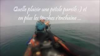 Pêche de la dorade en kayak