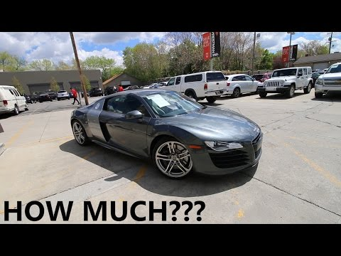 This is the Cheapest Audi R8 in the Nation