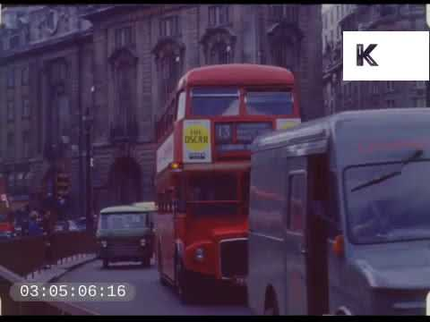 1960s Central London Traffic, Theatreland