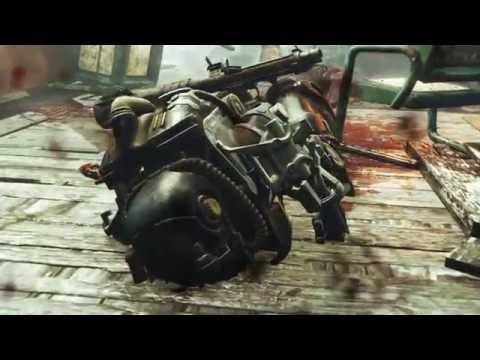 Fallout 4 part 19 (Far harbor DLC Wind Farm Maintenance Far Harbors Destruction!)