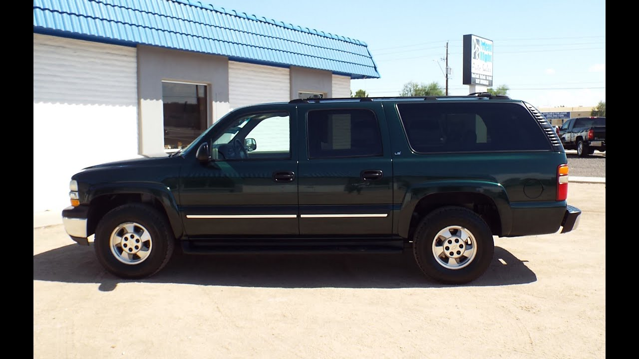 2002 chevrolet suburban 1500 ls 3rd row seat leather pr1402 youtube. Black Bedroom Furniture Sets. Home Design Ideas