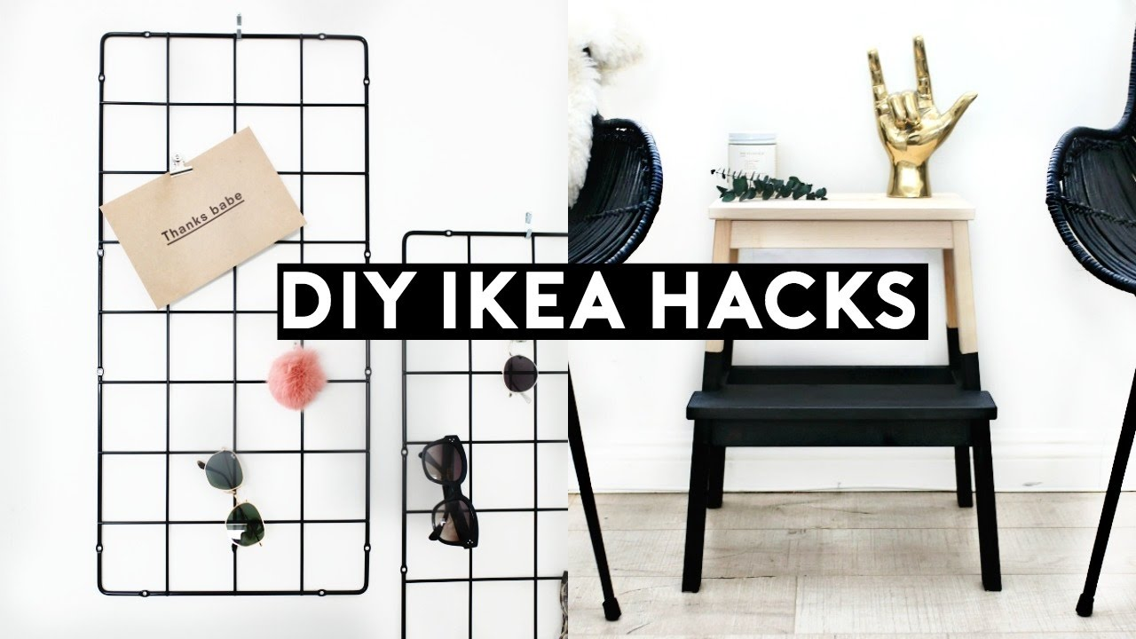Diy ikea hacks diy minimal room decor simple cheap for Room decor hacks