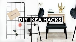 DIY IKEA HACKS | DIY MINIMAL ROOM DECOR! SIMPLE & CHEAP