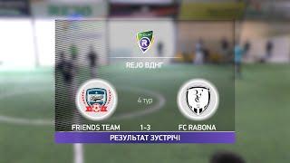 Обзор матча Friends Team 1 3 FC Rabona Турнир по мини футболу в Киеве