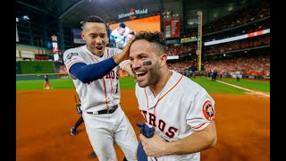 "Why was Altuve shouting ""Don't pull off my jersey!"""