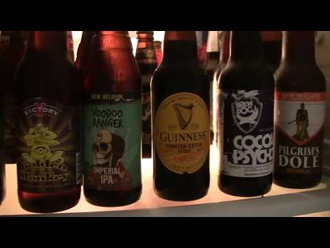 Beer Review # 2792 Dogfish Head Brewing Oak-Aged Vanilla World Wide Stout