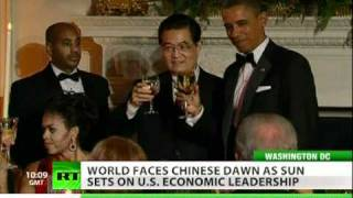 Obama hosts Hu Jintao at state dinner as currency, trade tops menu
