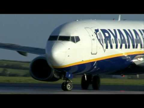 Irish Airliners Airlines DVD Dublin Cork Galway Aer Lingus Aer Arann Ryanair Takeoff and Landing