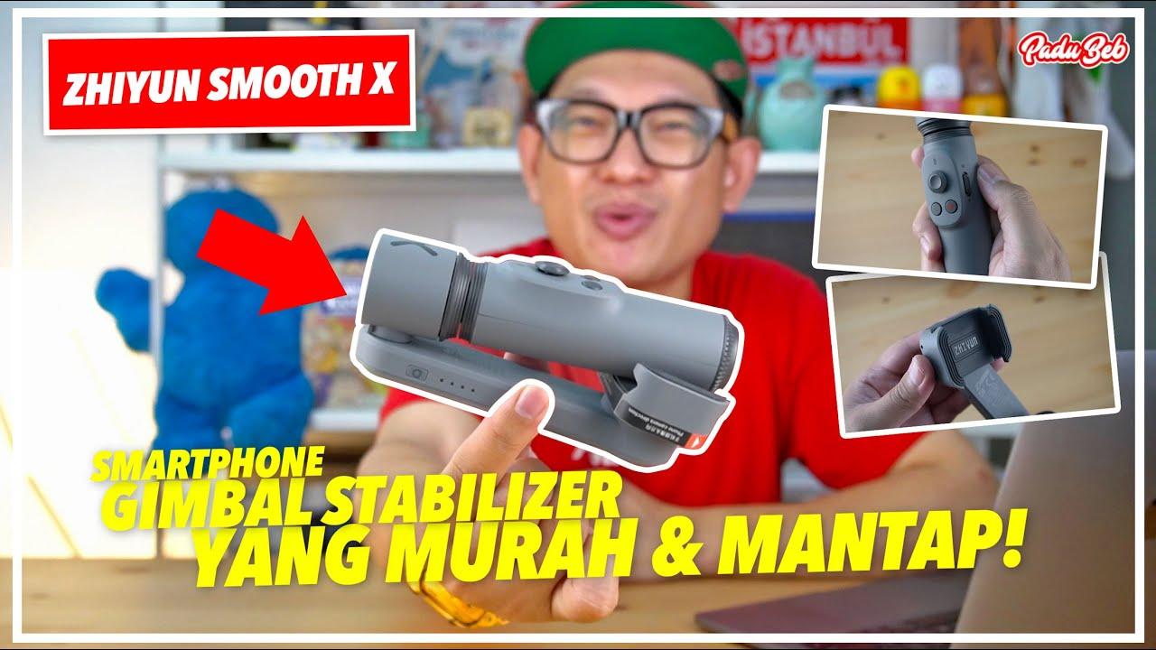 Ini Gimbal Stabilizer Paling Murah & Mantap Untuk Smartphone Korang.
