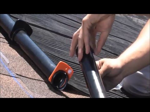 Enersol Solar Pool Heating - How to assemble Enersol Panels