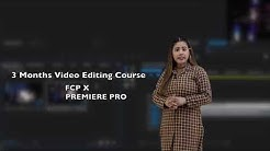 Video Editing Courses With on the job training