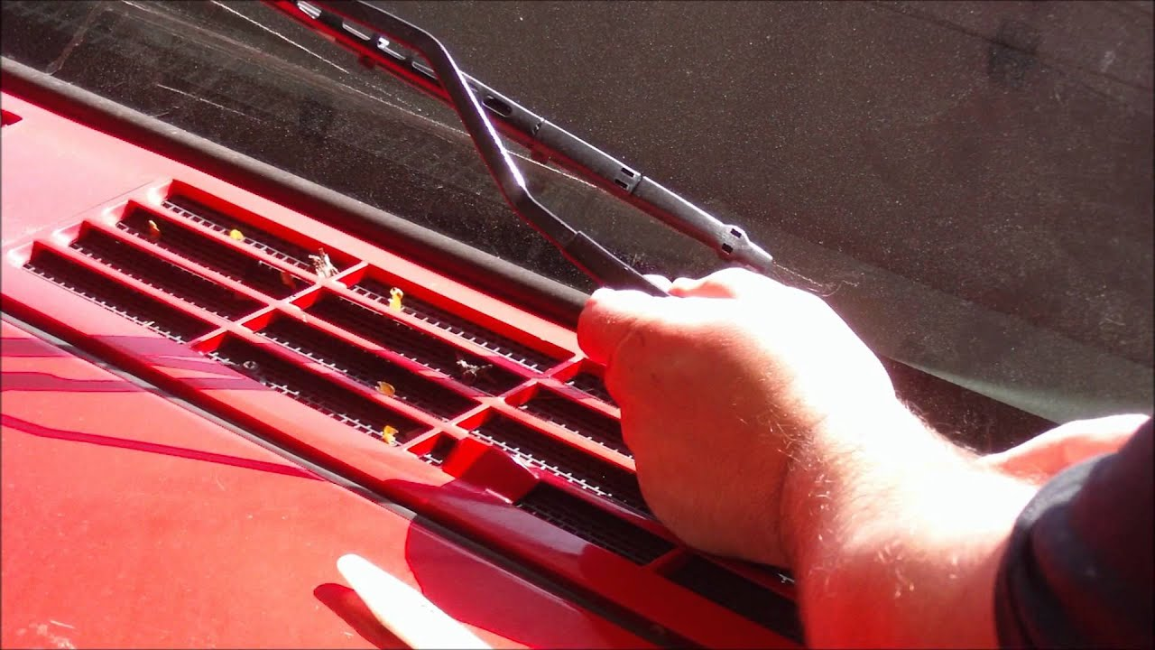 How To Remove A Windshield Wiper Arm Youtube