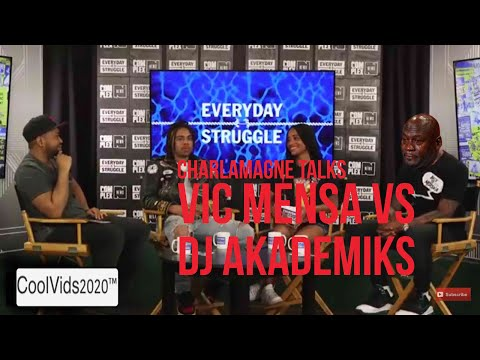 Charlamagne and Combat Jack talk Vic Mensa vs Akademiks