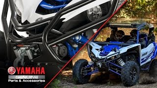 Yamaha YXZ1000R Grab Bars & Winch