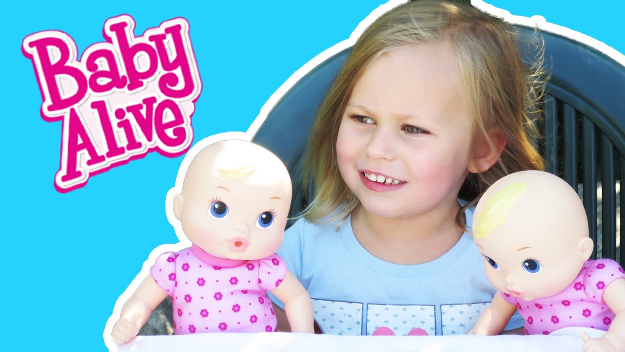 BABY ALIVE TWINS Interview Zoey from \